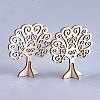 Wooden Jewelry Earring Display StandX-WOOD-S040-101-1