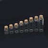 Glass Jar Glass Bottles Bead ContainersAJEW-R068-22x80-04-1