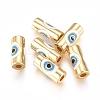 Brass Enamel BeadsKK-L189-20G-1