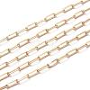Soldered Brass Paperclip ChainsCHC-G005-03G-1