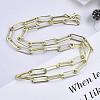 Brass Paperclip ChainsMAK-S072-14D-14KC-4