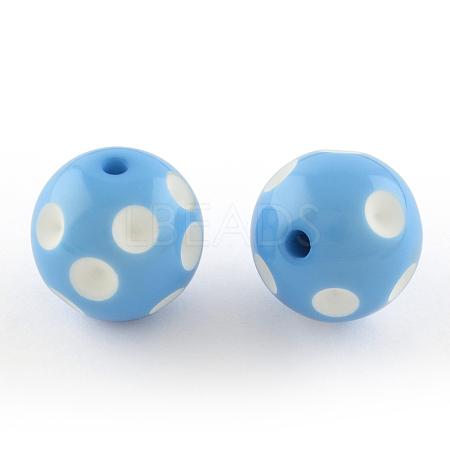 Chunky Bubblegum Acrylic BeadsSACR-S146-20mm-01-1