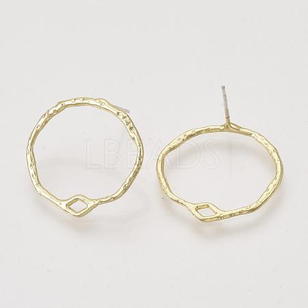 Alloy Stud Earring FindingsX-PALLOY-S121-240-1