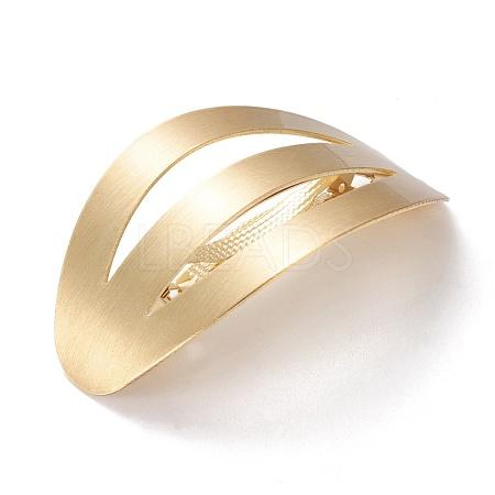 Brass Filigree Hair BarrettePHAR-F006-02MG-1