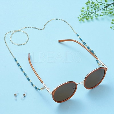Eyeglasses Chains AJEW-EH00036-06-1