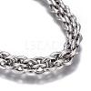 304 Stainless Steel BraceletsBJEW-E367-01P-2