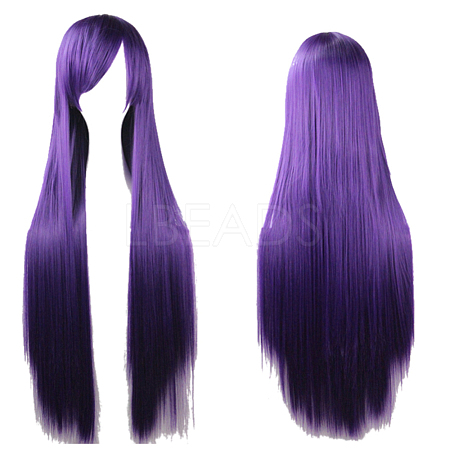 31.5inches(80cm) Long Straight Cosplay Party WigsOHAR-I015-11C-1