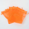 Organza Gift Bags with DrawstringOP-R016-13x18cm-14-2