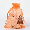 Organza Gift Bags with DrawstringOP-R016-13x18cm-14-1