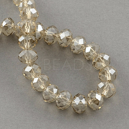 Electroplate Glass Bead StrandsX-EGLA-S096-4mm-05-1
