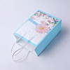 kraft Paper Pouches Gift Shopping Bags CARB-E002-L-D04-2