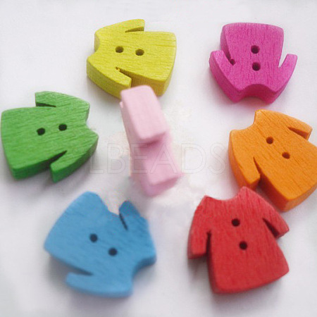 Cartoon Buttons with 2-Hole for ClothesNNA0Z3C-1