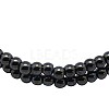 Magnetic Synthetic Hematite Beads StrandsIM5mm201-1