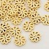 Wooden Hollow Flower ButtonsX-BUTT-N003-13-1