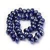 Handmade Porcelain BeadsPORC-Q219-15x9-E04-2