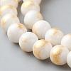 Natural Jade Beads StrandsG-F669-A13-6mm-3