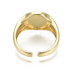 Brass Enamel Cuff RingsX-RJEW-S044-136-NF-4