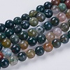 Natural Indian Agate Beads StrandsX-G-G515-4mm-05-1