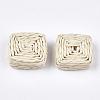 Handmade Woven BeadsX-WOVE-T006-134-2