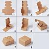 Kraft Paper BoxCON-WH0036-01-2