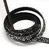Flat Imitation Leather CordsX-LC-Q009-17-1