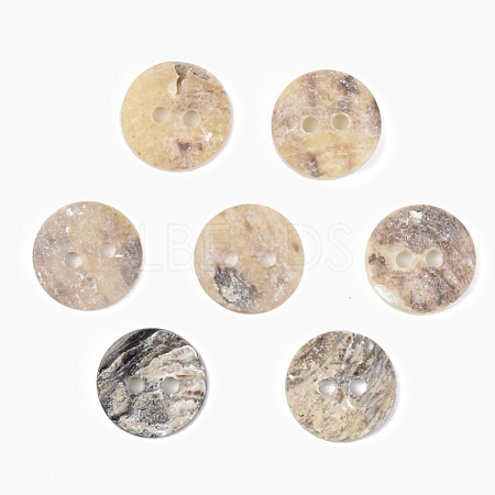 Mother of Pearl ButtonsX-SSHEL-R048-022A-1
