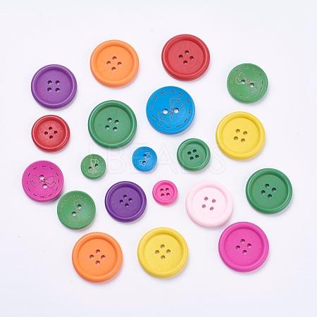 Wooden ButtonsBUTT-MSMC001-07-1
