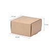 Kraft Paper BoxCON-WH0036-01-3