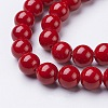 Natural Mashan Jade Round Beads StrandsX-G-D263-10mm-XS31-2