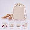 PandaHall Elite Cotton Packing Pouches Drawstring BagsABAG-PH0002-17-7
