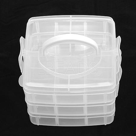 Plastic Bead ContainersCON-S034-1