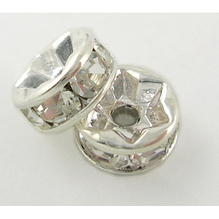 Middle East Rhinestone Spacer BeadsX-RSB035NF-01-1