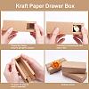 Kraft Paper Drawer BoxCON-YW0001-02A-A-5