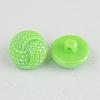 Taiwan Acrylic Shank ButtonsX-BUTT-F028-13mm-C11-2