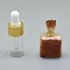 Natural Citrine Openable Perfume Bottle PendantsG-E556-18B-1