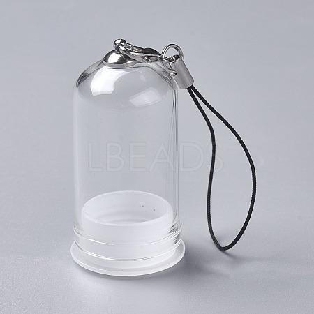Glass Dome Cloche CoverX-HJEW-P005-M-1