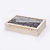 Wooden Bracelet Presentation BoxesODIS-P006-04-2