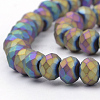 Electroplate Glass Beads StrandsX-EGLA-S141-4mm-02B-3