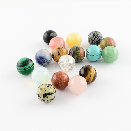 Natural & Synthetic Gemstone Stone BeadsX-G-S117-10mm-M-1
