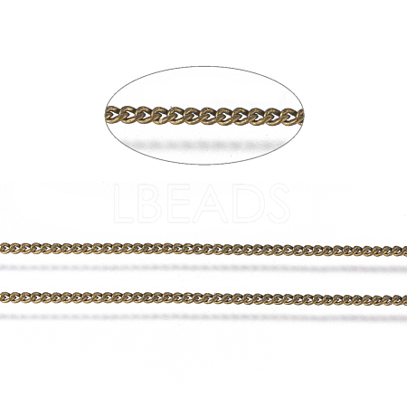 Brass Twisted Chains X-CHC-S109-AB-NF-1