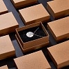 Kraft Cotton Filled Cardboard Paper Jewelry Set BoxesCBOX-R036-11A-8