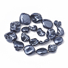 Shell Pearl Beads StrandsX-BSHE-Q031-15A-2