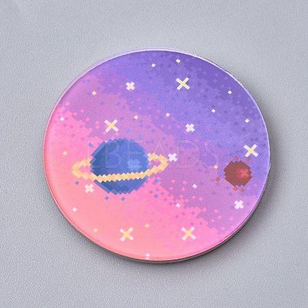 Fridge Magnets Acrylic DecorationsX-AJEW-F042-09-1