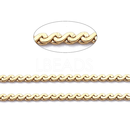 304 Stainless Steel Serpentine ChainsCHS-F011-12A-G-1