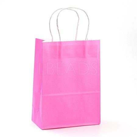 Pure Color Kraft Paper BagsAJEW-G020-B-02-1