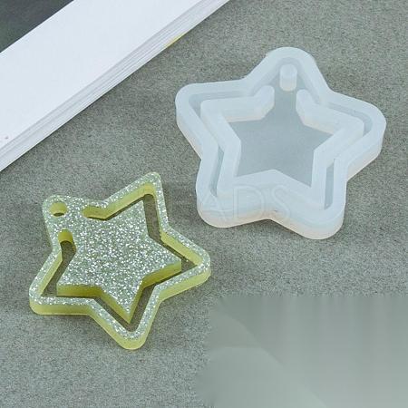 Food Grade Pendant Silicone MoldsX-DIY-E021-13-1