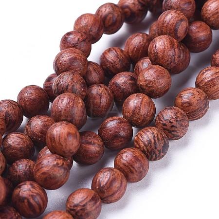 Wood Beads StrandsX-WOOD-F008-03-D-1