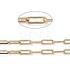 Soldered Brass Paperclip ChainsCHC-G005-03G-2