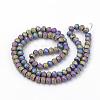 Electroplate Glass Beads StrandsX-EGLA-S141-4mm-02B-2