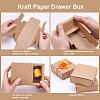 Kraft Paper Drawer BoxCON-YW0001-03A-A-4